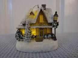 kinkade ornaments cottage decorations