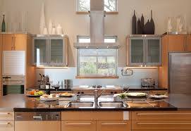 Decor Above Kitchen Cabinets Download Decorating Top Of Cabinets Monstermathclub Com