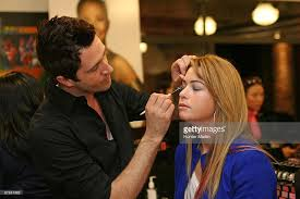 makeup artist classes nj lpga players visit brown studio photos and images getty images