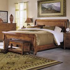King Sleigh Bed Klaussner International Urban Craftsmen California King Sleigh Bed