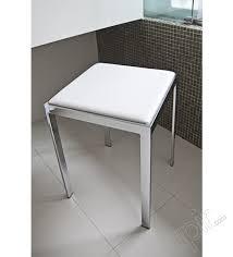 sgabelli bagno sgabello da bagno con seduta in ecopelle
