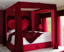 bedroom powerful bedroom design ideas in red color choices