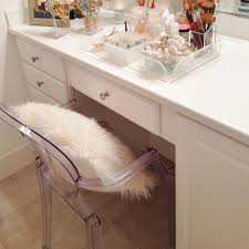 luxe report ghost chair u0026 vanity decor pinterest ghost