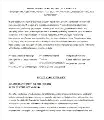 Sample Resume Of Business Analyst by Business Analyst Resume Template U2013 15 Free Samples Examples