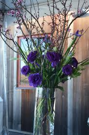 pretty purple arrangement purple wedding flower arrangements