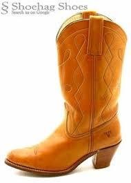 womens vintage cowboy boots size 9 frye black label cus cowboy boots womens 7 5 b true vintage
