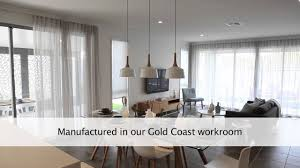 wave fold sheer curtains by a curtains and blinds gold coast youtube