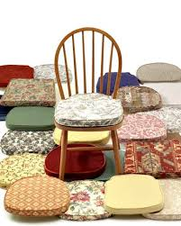 dining room chair seat cushions dining room seat cushions and chair pads with plans 14