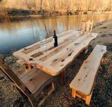 rustic dining room sets reclaimed wood dining table is also a kind