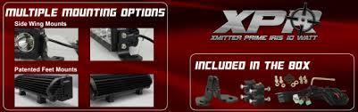 Vision X Light Bar Reach Unmatched Distances With Vision X U0027s New Xpr Long Range Light
