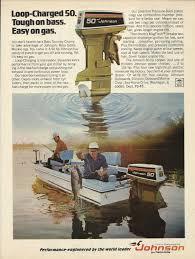 100 johnson outboard motors 1952 johnson motors color ad