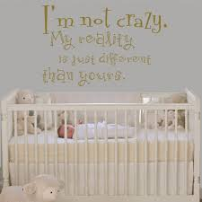 Nursery Sayings Wall Decals In Wall Decal Cheshire Cat Sayings I M Not