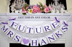 Wedding Shower Decorations by Bridal Shower Decor Future Mrs Banner Bride To Be Banner