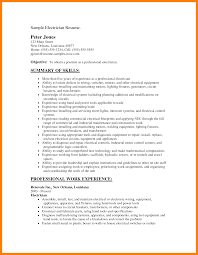 plc electrician cover letter electrical technician resume sample