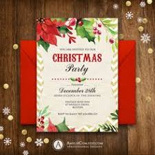 christmas party invitation template free printable christmas invitations template printables