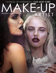 magazines for makeup artists oct nov 2015 issue 116 make up artist magazine