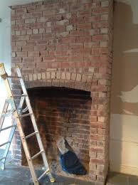 exposed brick chimney breast outside bbq pinterest exposed