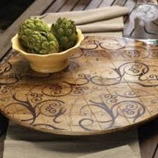 Lazy Susan Kitchen Table by Lazy Susan Table Foter