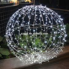 giant led christmas balls garden decoration lighted christmas