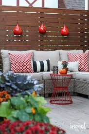 Outdoor Fall Decorating Ideas by Fall Deck Orating Ideas Inspired By Charm