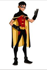 batman ytb robin bio young justice animated series
