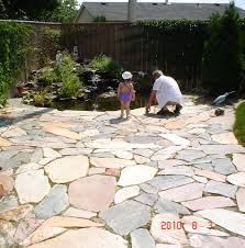 Flagstone Patio Cost Per Square Foot by Pyramid Rock Gardening