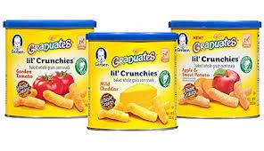 graduates snacks gerber graduates snack foods gerber graduates crunchies