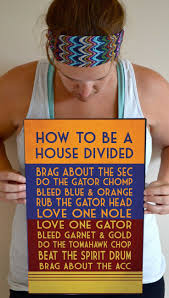 15 best house divided uf and fsu images on pinterest house