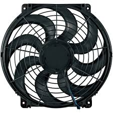 flex a lite electric fan kit flex a lite automotive 14 inch s blade reversible electric fan