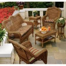 Resin Wood Outdoor Furniture by Wicker Patio Furniture Natural Beauty For Your Outdoor Living Area