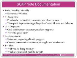 Soap Notes For Therapist 13 Best Soap Notes Images On Pinterest Speech Language Pathology