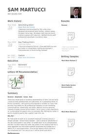 Internship Resume Examples by Download Advertising Internship Resume Haadyaooverbayresort Com