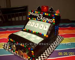 coolest casino video poker cake
