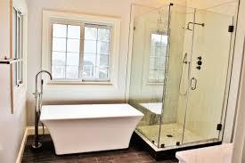 modern master bathroom custom cabinets residential and