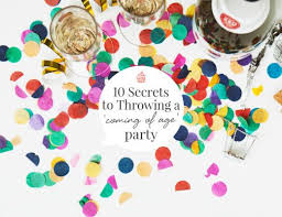 hello party 21 best coming of age party ideas images on