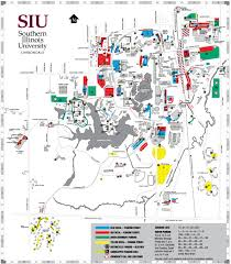 Illinois State University Campus Map by Siu Campus Map My Blog