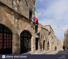 italian embassy knight street odos ippoton rhodes town rhodes