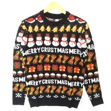 christmas sweater merry crustmas pizza lover tacky christmas sweater the
