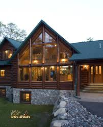 Luxury Log Home Plans by Featured Homes Log Homes Org