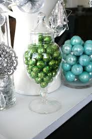 Christmas Tree Decorations Blue And Green by Blue Green White And Silver Christmas Decorating Ideas