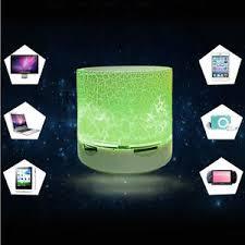 Light For Phone Wireless Bluetooth Speaker Portable Mini Hands Free Call Led Light