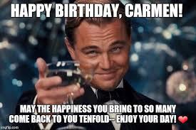 Memes Carmen - leonardo dicaprio cheers meme imgflip