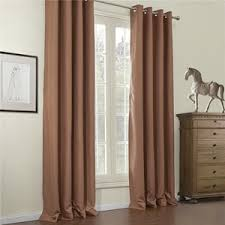 Brown Blackout Curtains Ivory Blackout Curtains