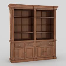 White House Oval Office Desk by Carved Wood Antique Office Desk 3d Model