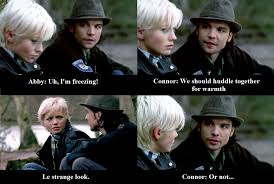 Abby Meme - primeval connor temple and abby maitland conby by
