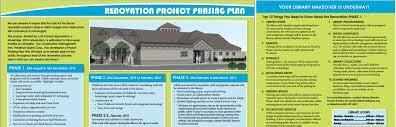 Renovation Project Plan Renovation News Lemont Public Library
