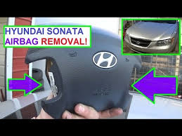 2006 hyundai tucson airbag light how to remove and replace the airbag on a hyundai sonata air bag