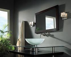Above Mirror Vanity Lighting Aurora Over Bathroom Mirrors With Led Lights Ideas Aurora Over