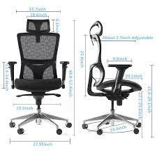 amazon com cctro high back mesh ergonomic office chair with