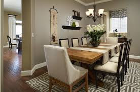 glass centerpieces tags simple kitchen table decorating ideas